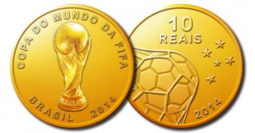 ワールドカップ記念硬貨