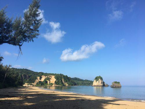 西表島 砂浜